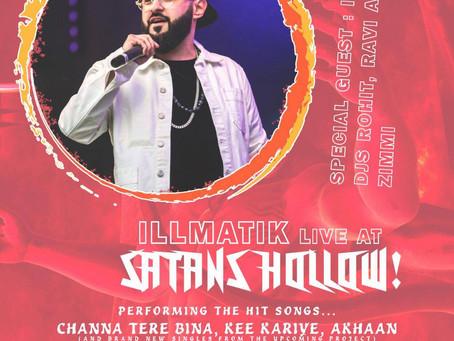Illmatik - Live Pa! Bollywood Seduction!! Wednesday 6th Dec 2017-Asian Nightclub Manchester