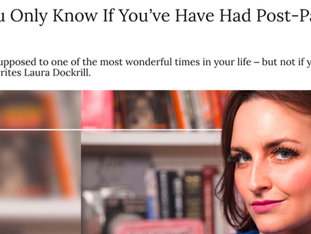 """Laura Dockrill Shares """"Things You Only Know if You've Had Postpartum Psychosis"""" with Grazia"""