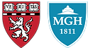 Harvard Medical School and MGH logos
