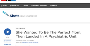 NPR Discusses Treatment and Care for Women Suffering from Postpartum Psychosis