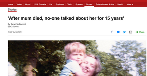 The BBC Shares Iain's Story of Learning about his Mother's Postpartum Psychosis