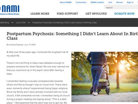 The National Alliance on Mental Illness Shares Kristina Dulaney's Story