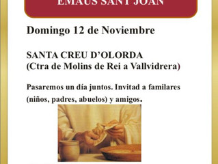 Trobada de famílies a l'Església de Santa Creu d'Olorda
