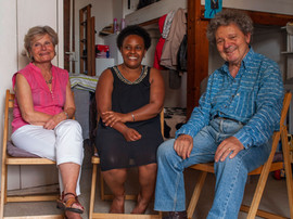 Chantal, Sifant et Bernard