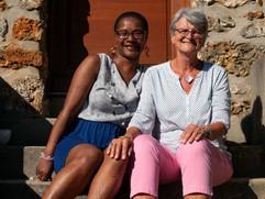 Brigitte et Marie-France