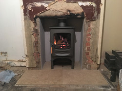 Charnwood C4 In Grey On Stand