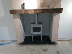 Charnwood C5 in pewter on high legs