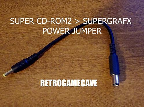 Super CD-Rom2 to Super Grafx Power jumper