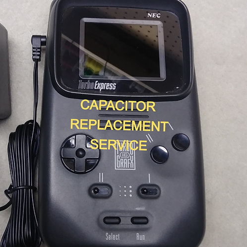 TURBO EXPRESS CAPACITOR REPLACEMENT SERVICE (USA-ONLY)