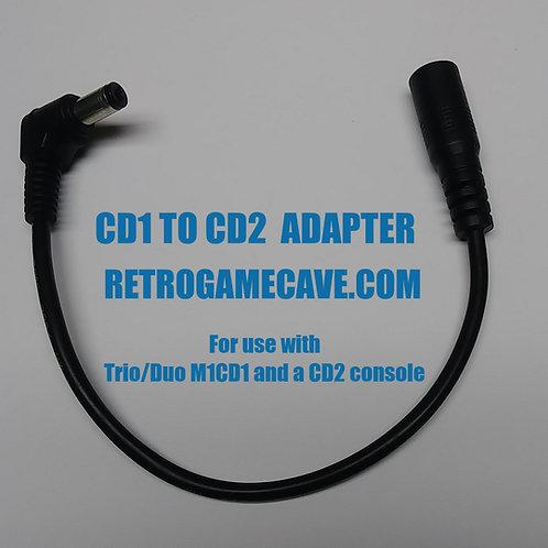 Sega CD1 to CD2 Adapter