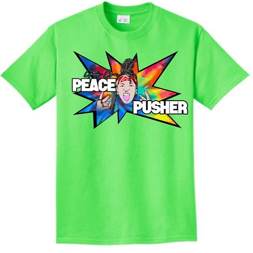 Official 'Peace Pusher' Toon Tee