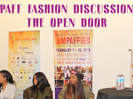 PAN AFRICAN FILm FESTIVAL (Fashion Segment) #aMPAFFIED