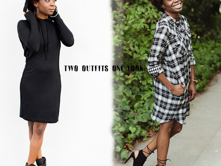 TWO OUTFITS ONE LOOK - GOODBYE FALL!!