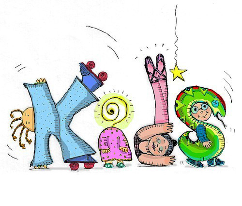 Kids' Corner Lettering