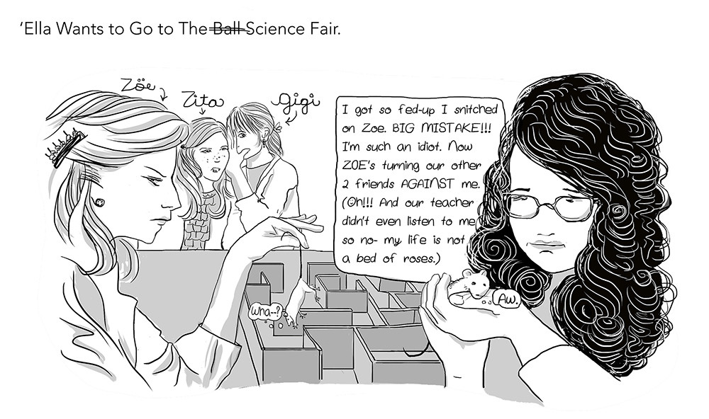 Ella Wants To Go To The Science Fair