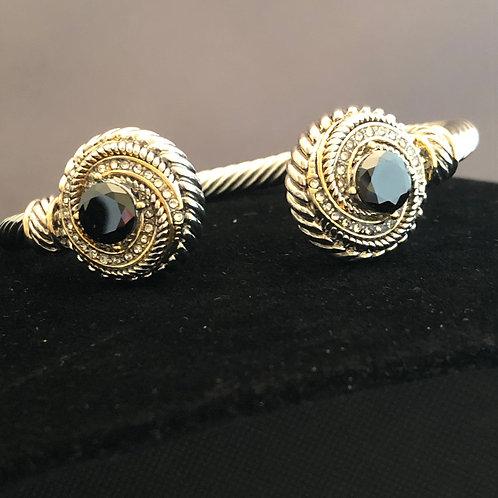 Two tone Designer look bracelet