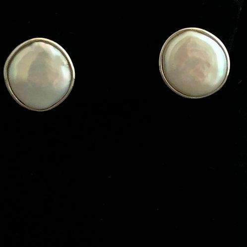 Sterling Silver Freshwater Pearl Earring