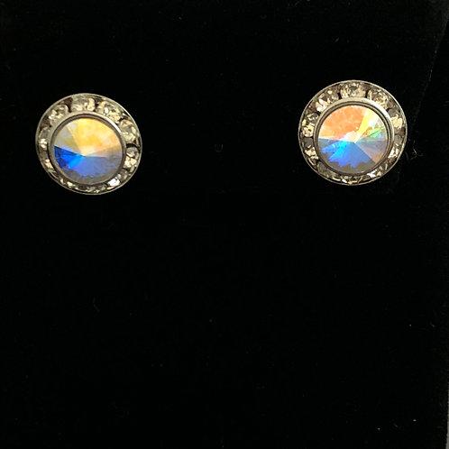 Swarovski crystal stud earring