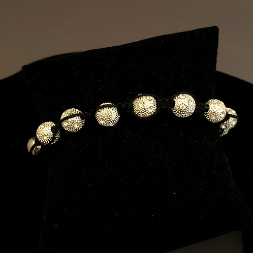 Designer look Austrian crystal bracelet