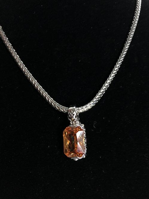 Designer  Champagne  pendant on Magnet chain