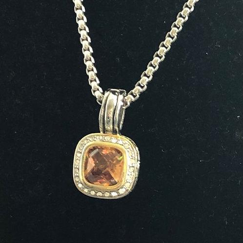 Designer Champagne detachable pendant