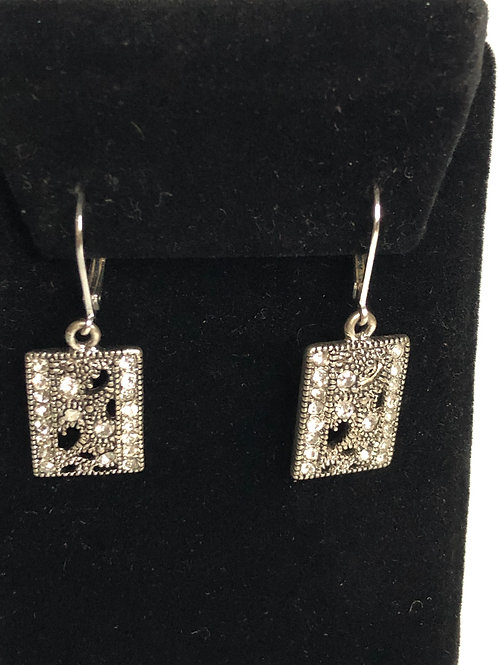 Designer Inspired lever back earring