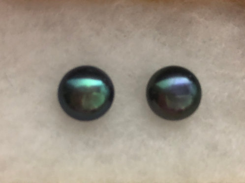 6-7 MM Freshwater Cultured pearls stud earring