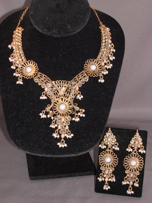 Gold & FWP Cleopatra chandelier set