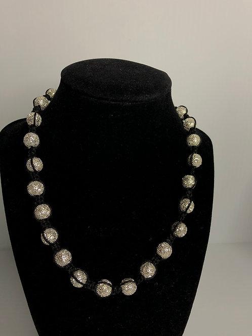 Designer look Austrian crystal necklace