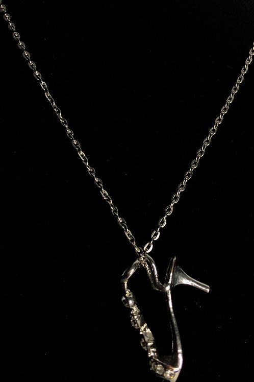 Shoe silver pendant