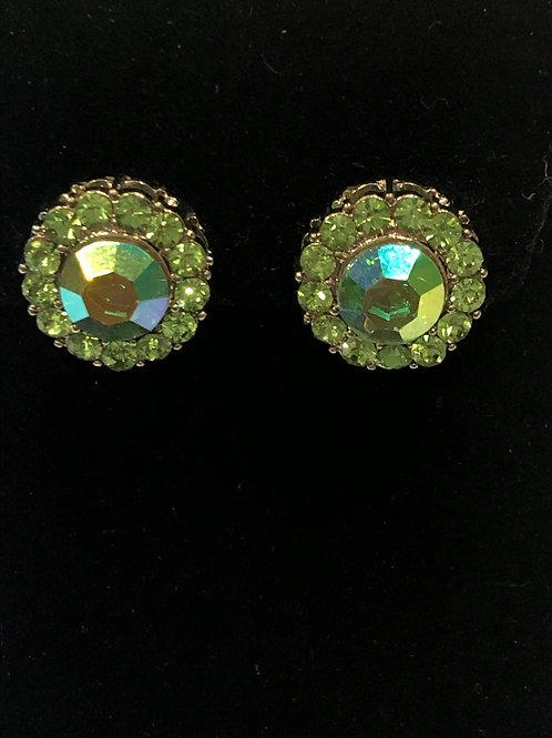 Austrian crystal clip on earring