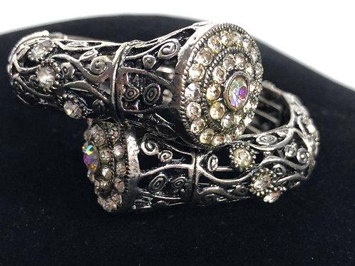 Moroccan design coiled bracelet