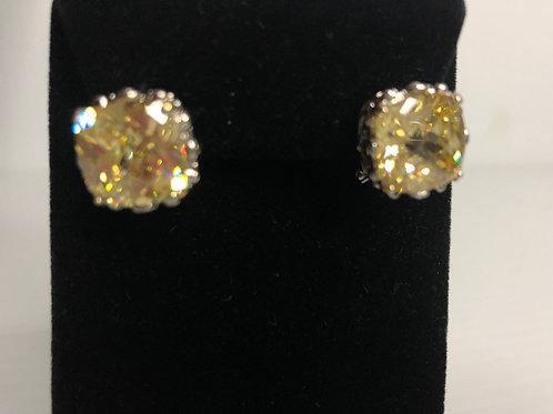 Designer look CANARYCubic Zircon lever back earrings