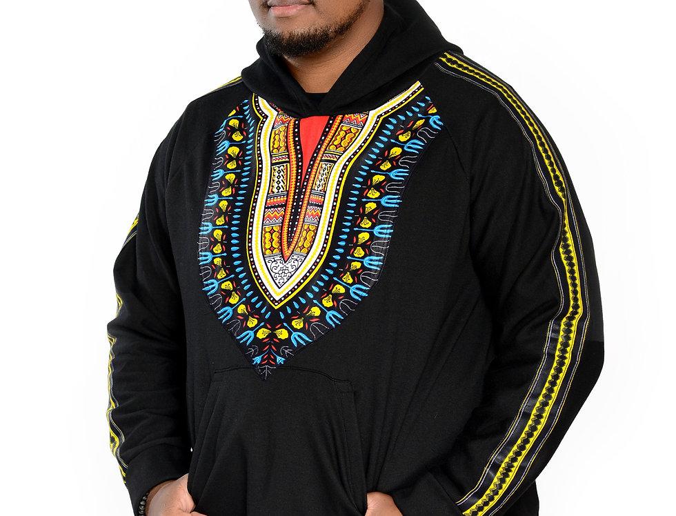 Unisex Authentic Dashiki Clothed Hoodie (Heritage Hoodie)
