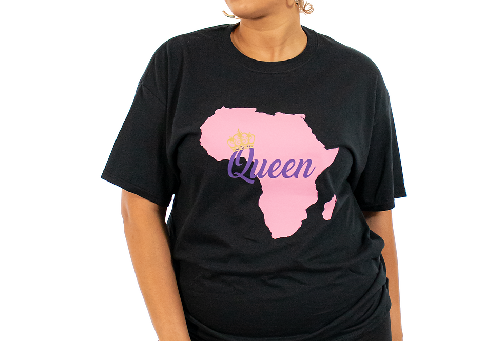 Crowned Queen of Africa T-Shirt