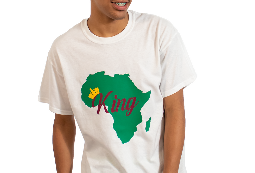 Crowned King of Africa T-Shirt