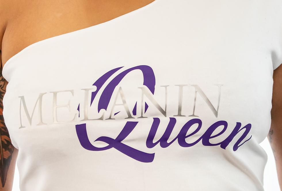 Melanin Queen Single Strap Shirt