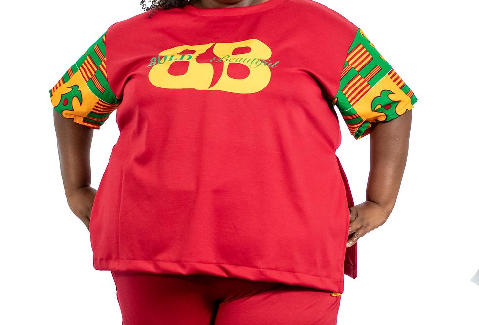 Bold & Beautiful African Print T-Shirt