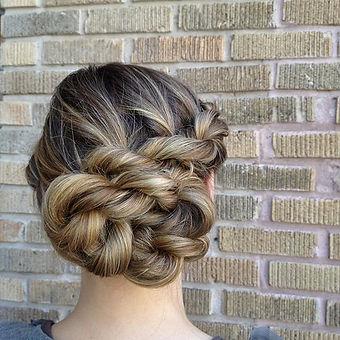 #braids #upstyles #ropebraid #Aveda
