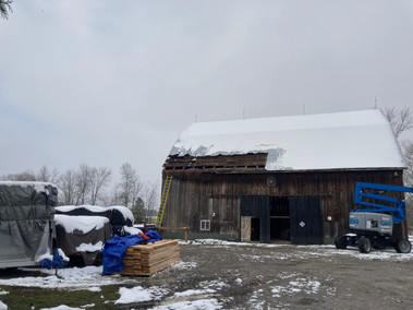 Stell Barn Roof Replacement
