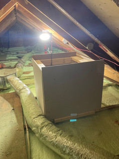 Attic Box Creation for blown in Insulation