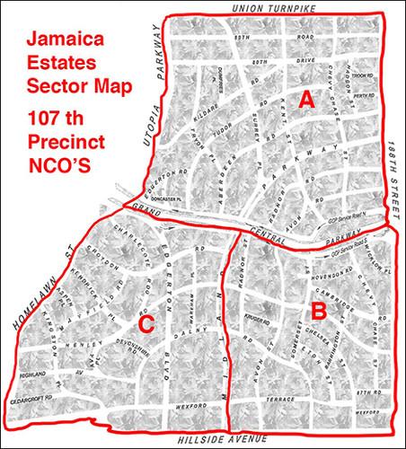 JEA Police Sectors