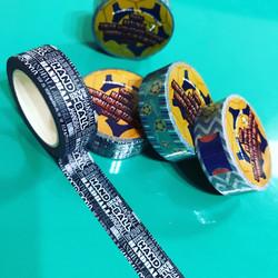 ハンドボール柄マスキングテープ