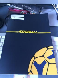 ハンドボール用練習ノート