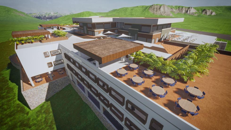 Hotel y centro comercial Supía