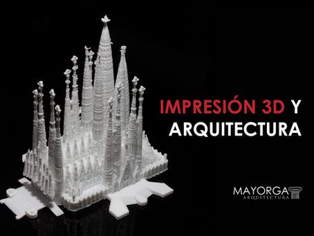 Impresión 3D de maquetas y arquitectura