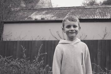 Childrens Photographer Boy Portrait