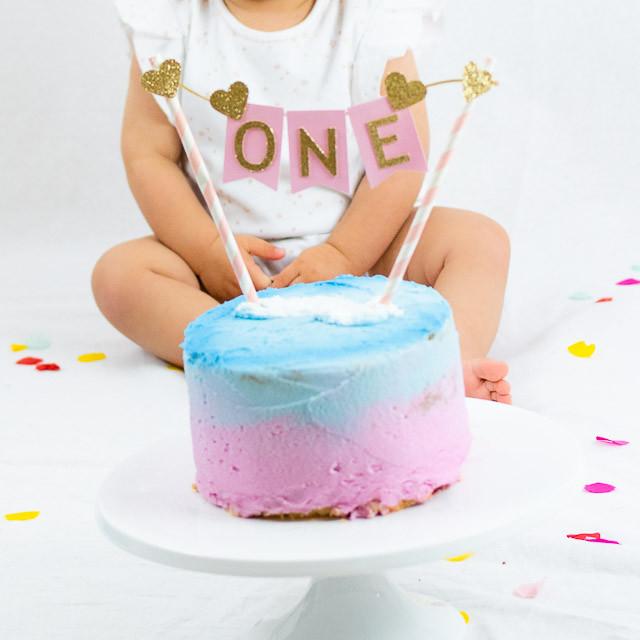 Astounding Cake Smash First Birthday Personalised Birthday Cards Arneslily Jamesorg