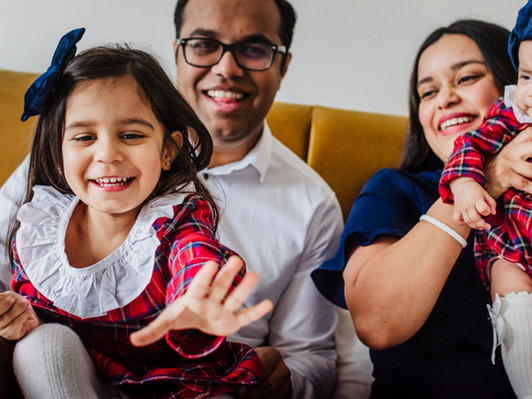 Your Home is the perfect location for a family photoshoot.  It really is.