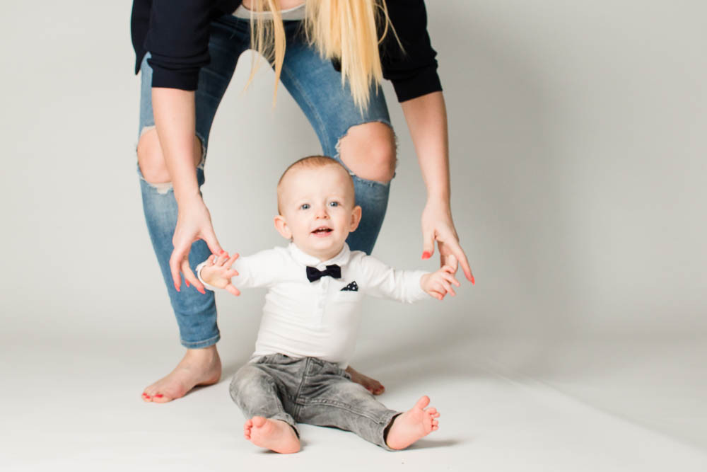 What are the best ages to have professional baby photographs